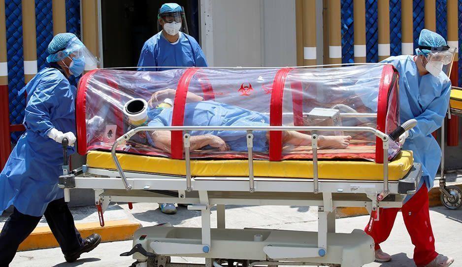 México ya ocupa el segundo lugar a nivel mundial en muertes COVID por día
