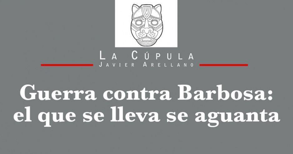 Guerra contra Barbosa: el que se lleva se aguanta