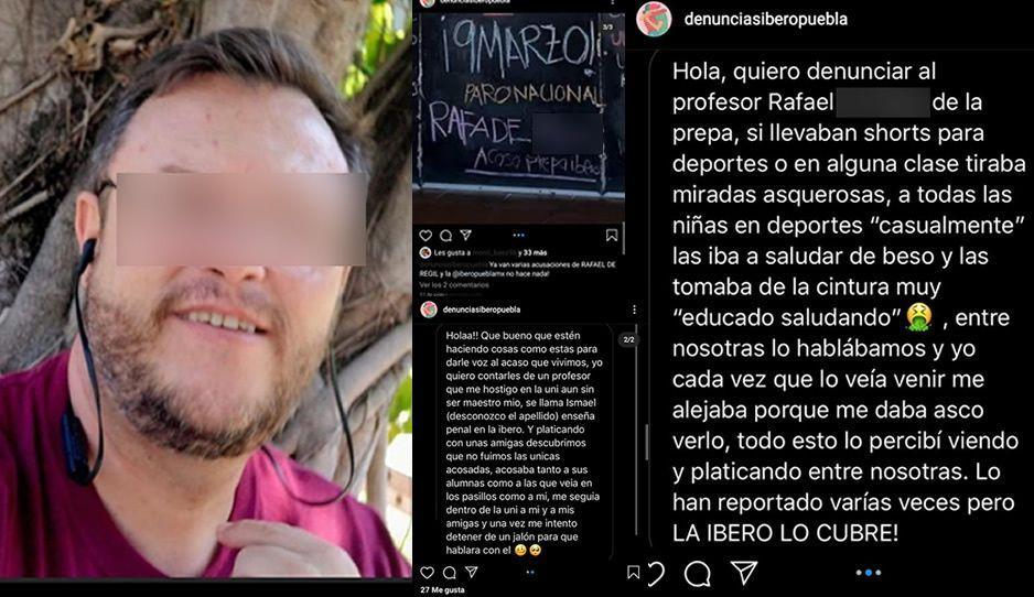 """Maestro de la IBERO nos """"tiraba miradas asquerosas"""" cuando íbamos de short, nos hostigaba: alumnas exhiben a acosadores"""