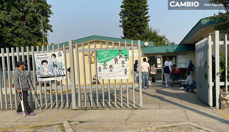 Derechohabientes esperan hasta 3 horas para ser atendidos en el IMSS de Huejotzingo