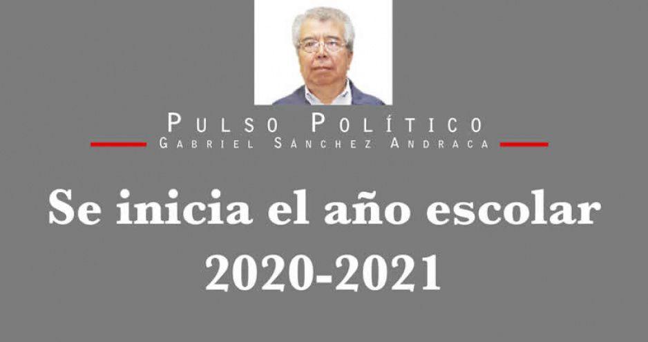 Se inicia el año escolar 2020-2021