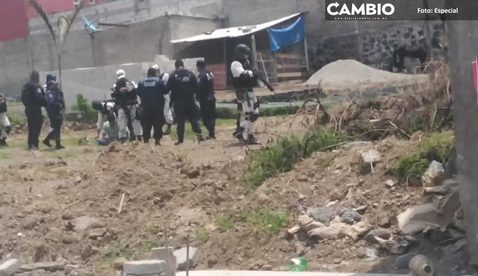 Detienen a un narcomenudista en  Atlixco tras persecución y balacera