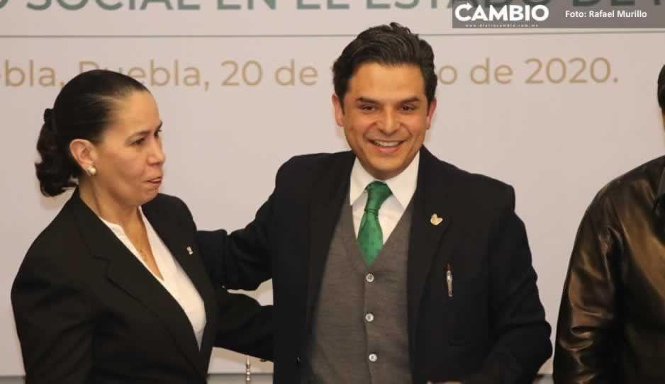 Zoé Robledo se reunirá con Aurora Treviño, delegada del IMSS Puebla