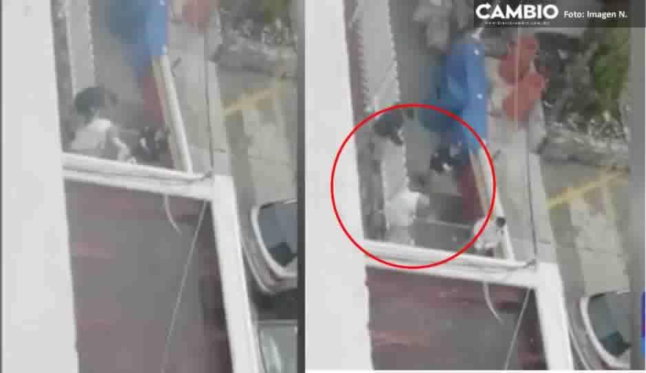 Abuelito con coronavirus intenta escapar saltando de una reja en ISSSTE San Manuel (VIDEO)