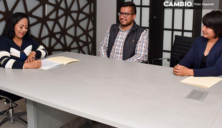 Ayuntamiento de Cuautlancingo firma convenio de colaboración con Icatep