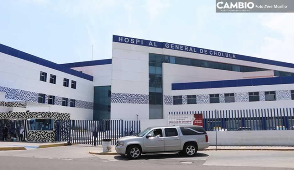 Hospital General de Cholula llega al 49 por ciento de capacidad