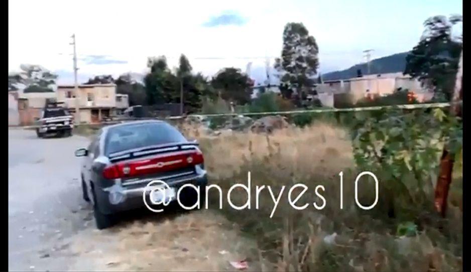 ¡Ay nanita! Hallan cadáver en barranca de Flor del Bosque (VIDEO)