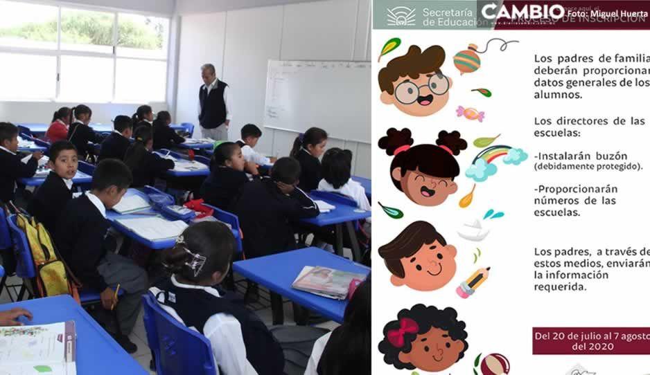 Proceso de inscripción inicia este lunes en Puebla: SEP