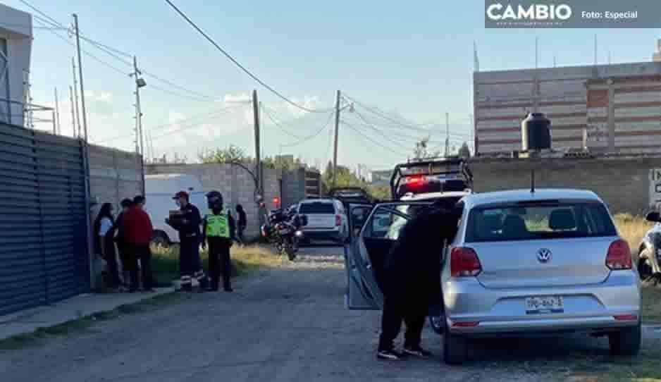 Hombre se suicida en San Andrés Cholula; lo encuentran colgado de una soga en su casa