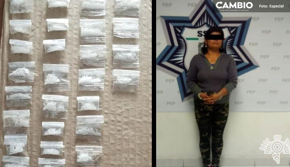 Confirman detención de Cristina, narcomenudista de El Chupón y El Julián