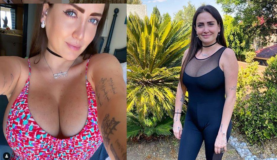 Celia Lora causa polémica hasta por regar el pasto desnuda (FOTO)
