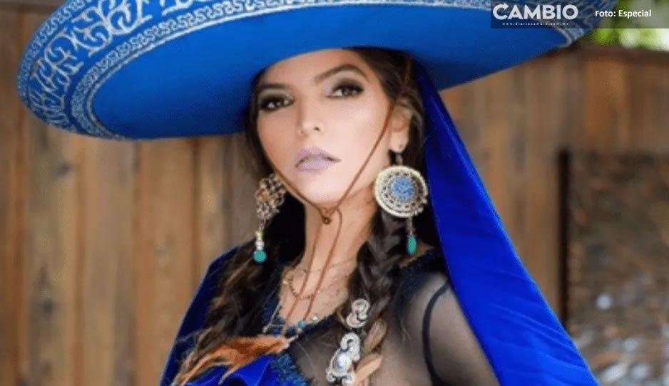 Ana Bárbara da grito mexicano usando traje de charra totalmente transparente (FOTOS)