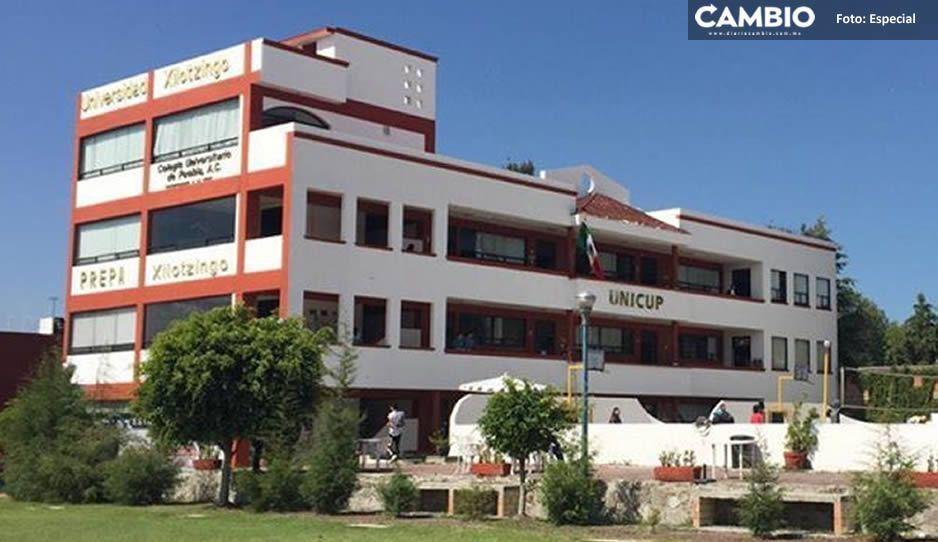 Universidad de Xilotzingo retiene documentos de alumnos, exige pago de mil 500 pesos