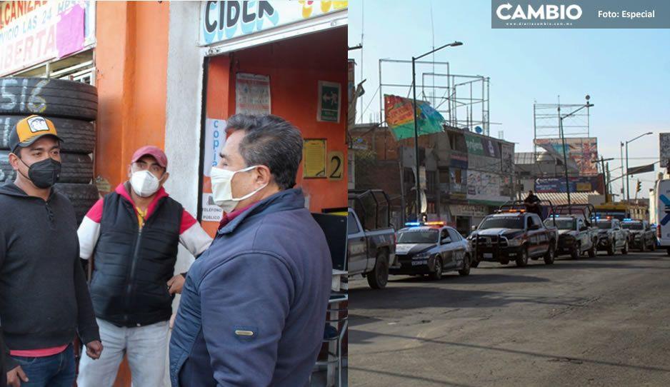 Texmelucan inhabilita 5 establecimientos por incumplir decreto estatal