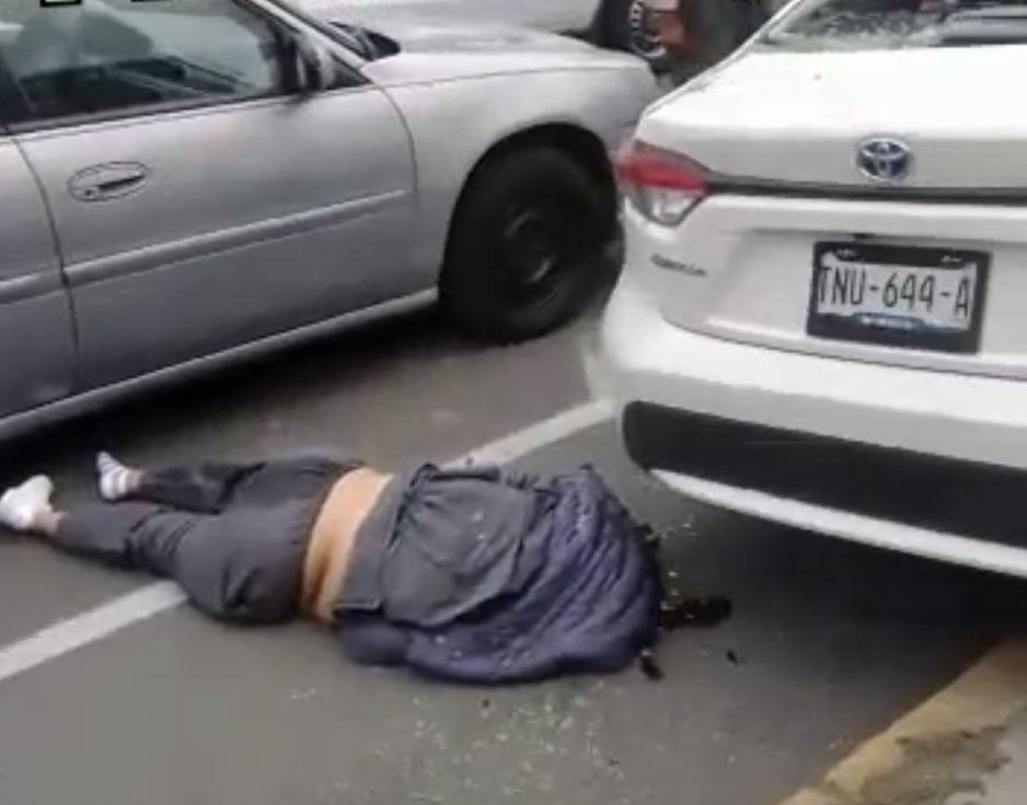 ¡Otro borrachazo en Puebla! Ahora briago arrolla y mata a mujer frente al Mercado de Sabores (VIDEO)