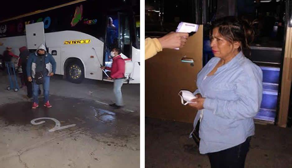 ¡Ya les urgía! Tras meses de estar clausurado, llegan más de 200 autobuses al tianguis de Texmelucan