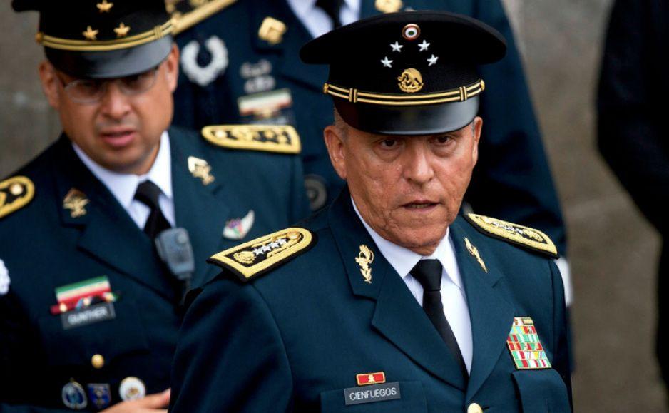 Cae a Salvador Cienfuegos en Estados Unidos, secretario de la Defensa Nacional de Peña Nieto