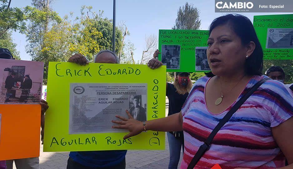 Padres de menor extraviado acusan a las autoridades de Tlacotepec de Benito Juárez