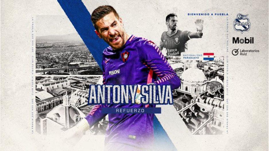 Antony Silva, porterazo de Paraguay, llega al Puebla