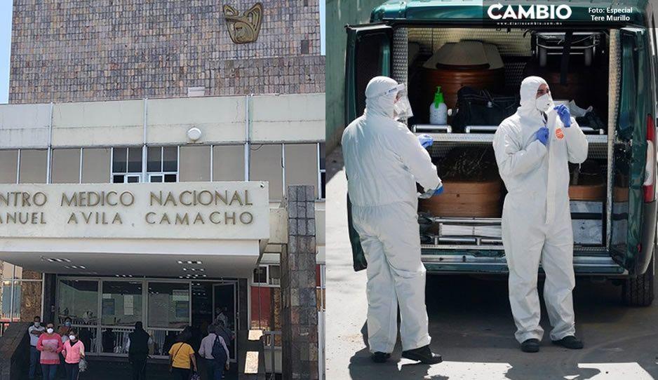 Estos son los datos de los 9 muertos por coronavirus en Puebla; la mayoría son del IMSS