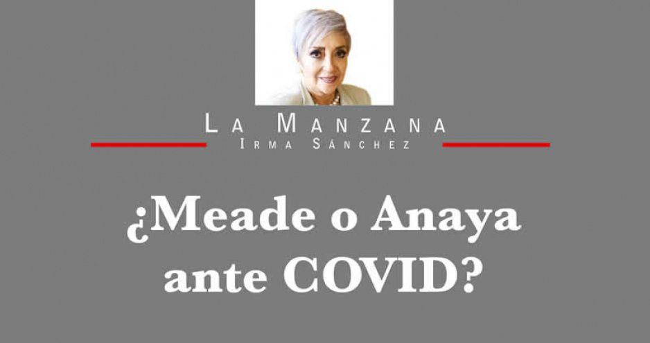 ¿Meade o Anaya ante COVID?
