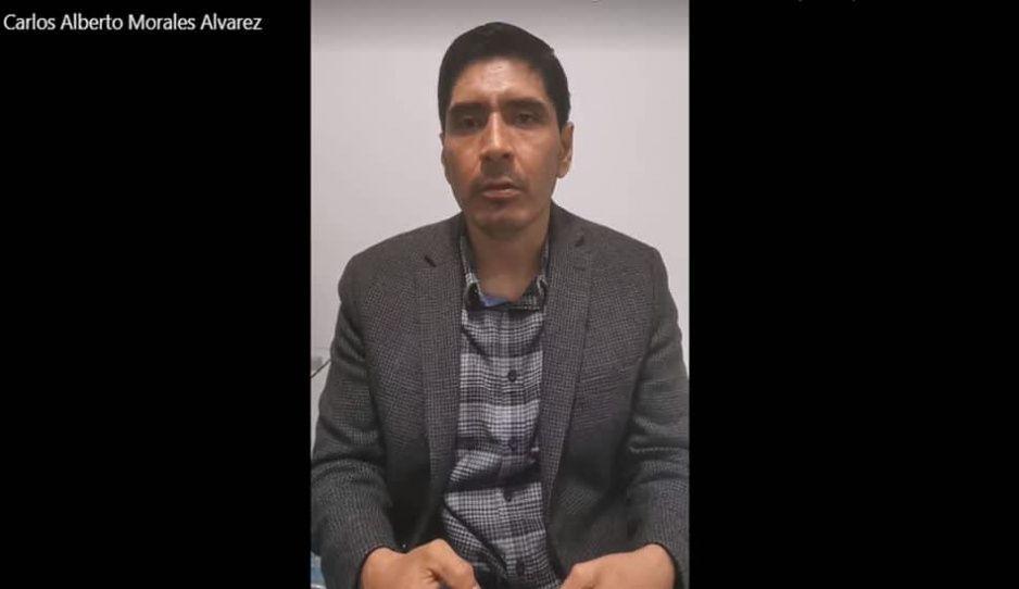 Carlos Morales, diputado local, responsabiliza al Ayuntamiento de Huejotzingo de su seguridad