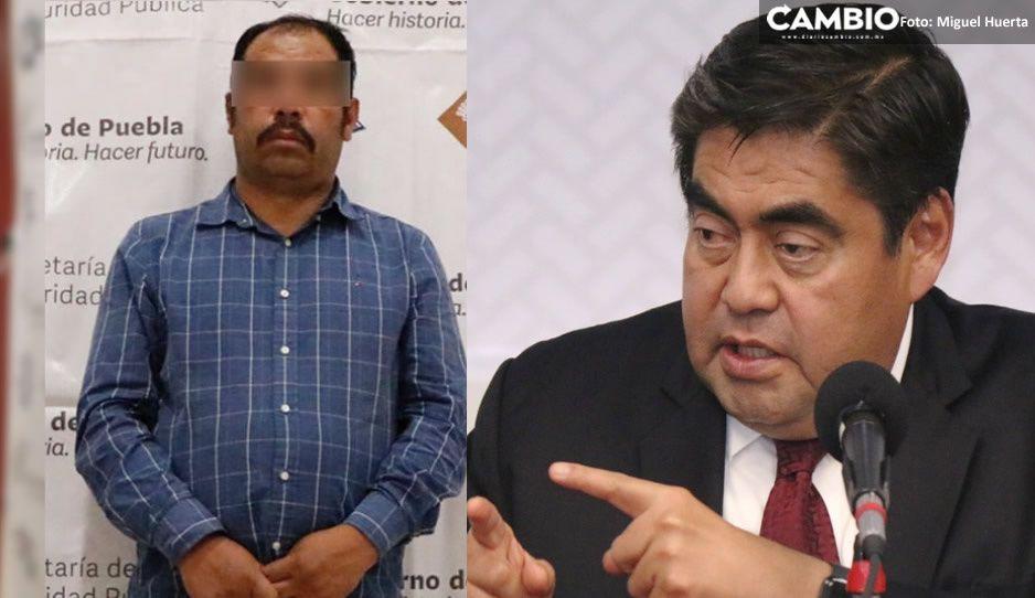 El Moco llevaba despensas a Hidalgo para apoyar aspirantes a candidatos: Barbosa