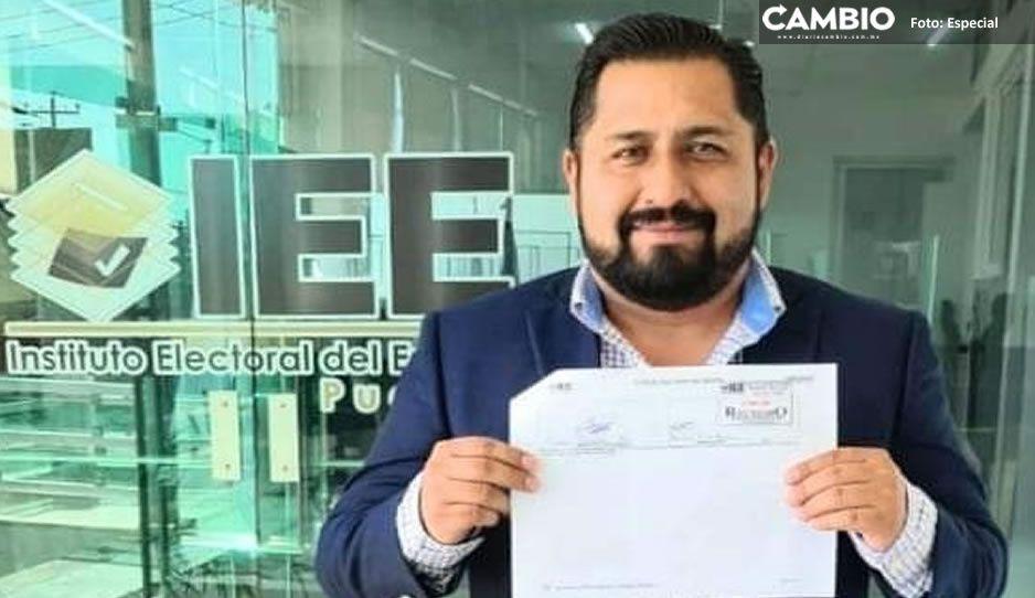 Un Don Nadie, es el primer candidato independiente a la alcaldía de Texmelucan