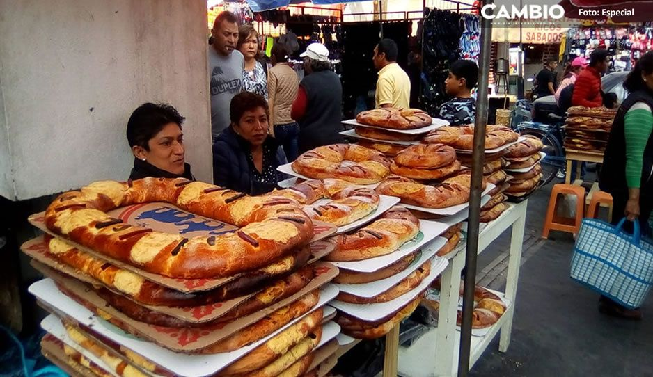 Claudia da permisos a ambulantes para venta de roscas pese a pandemia
