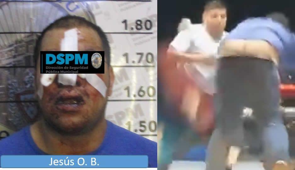 Golpean a rata hasta dejarlo como Santo Cristo en gasolinera de Chihuahua (VIDEO)