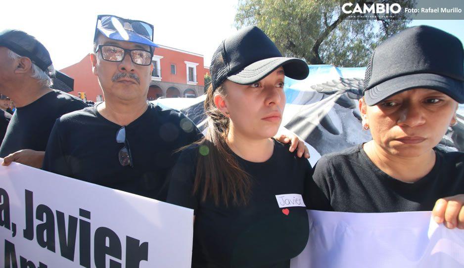 No nos den condolencias,  exigimos justicia: familia de Javier Tirado, estudiante  asesinado en Huejotzingo