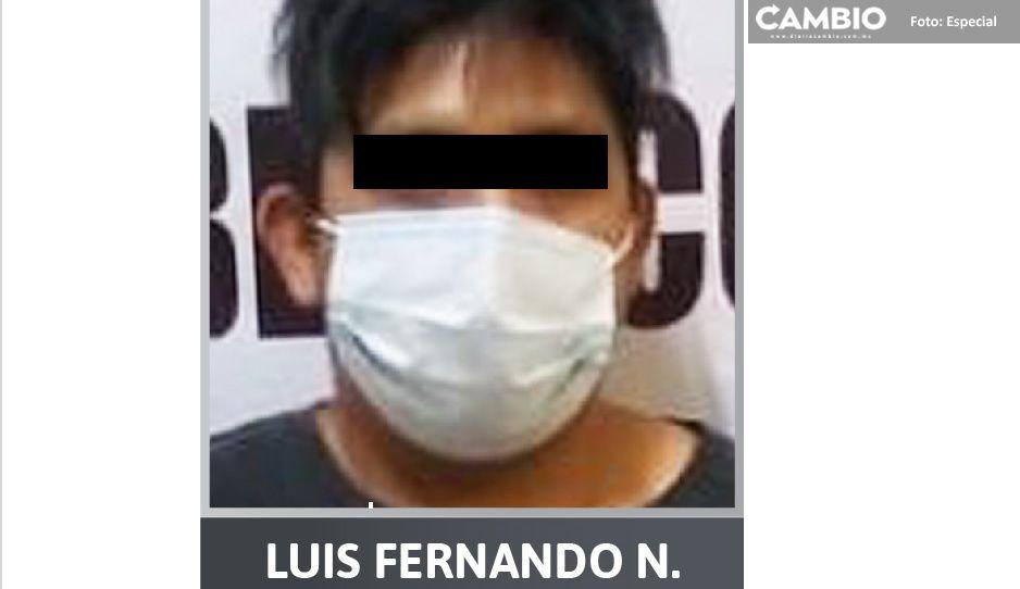 Encarcelan a pervertido que abusó sexualmente de la hijita de su concubina en Texmelucan