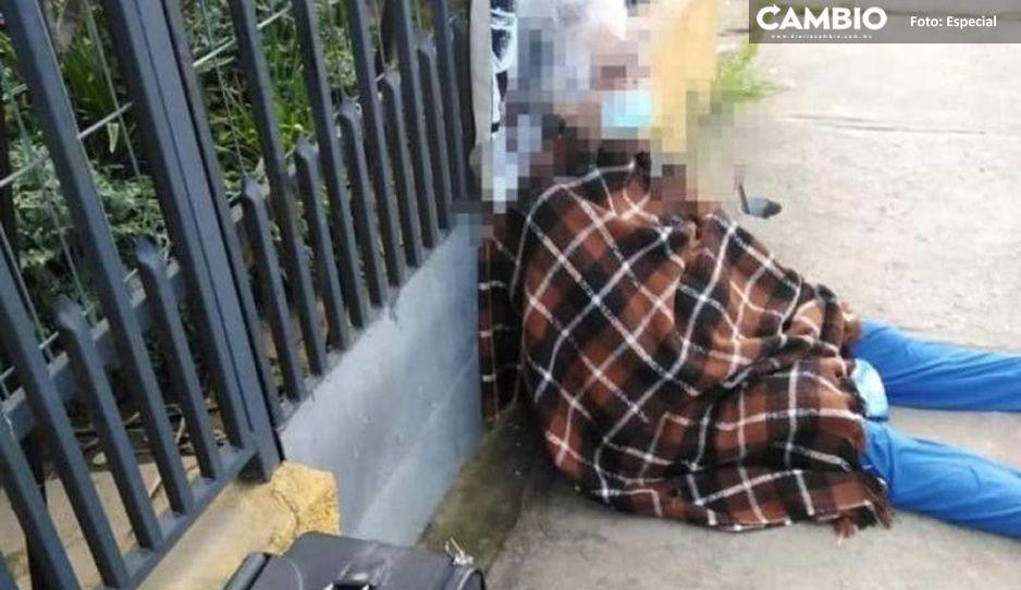 ¡Qué poca! Abuelita de 88 años es echada a la calle por su hija
