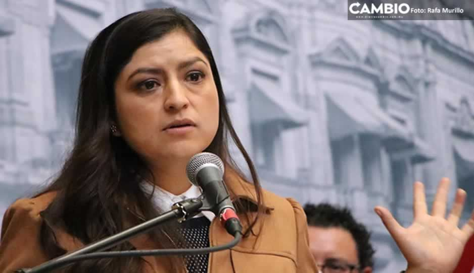 Urge Claudia Rivera al Congreso despenalizar el aborto