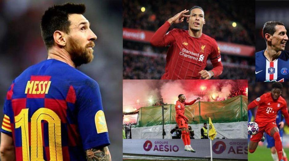 Así quedó el once ideal de la temporada futbolera suspendida por la pandemia; Messi lidera la orquesta