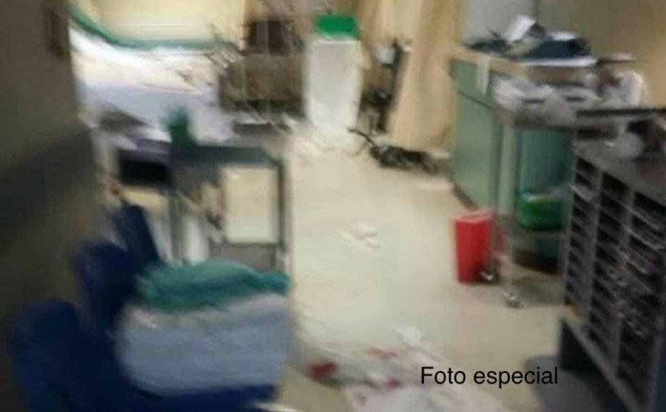 Así de destruido sigue luciendo el Hospital de San Alejandro a tres años del s-19 (FOTOS)