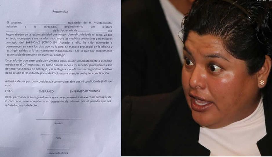 Karina obliga a policías de San Andrés a firmar responsivas si se enferman de Covid