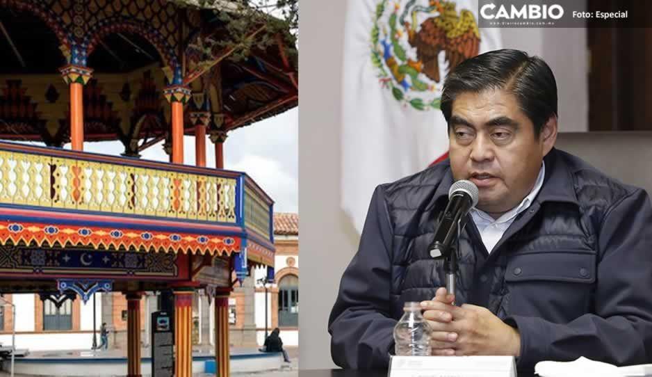 Barbosa afirma inversión de 30 millones de pesos en el Centro de Seguridad en Chignahuapan