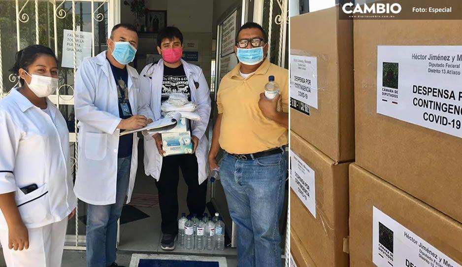 Hospital de Atlixco pide cubrebocas y guantes, para evitar la propagación del Covid-19