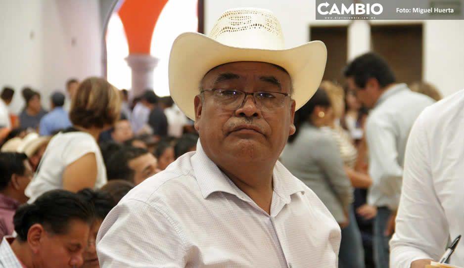 Nacho Salvador tiene hasta el 5 de julio para  renovar licencia al cargo como edil de Ajalpan