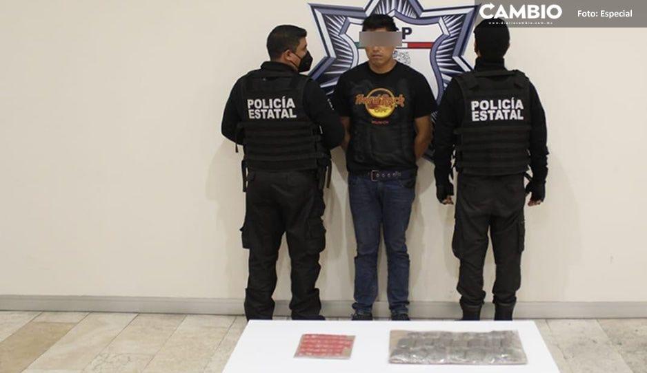"""Detienen a """"El Walter"""" distribuidor de droga en Los Lavadero"""