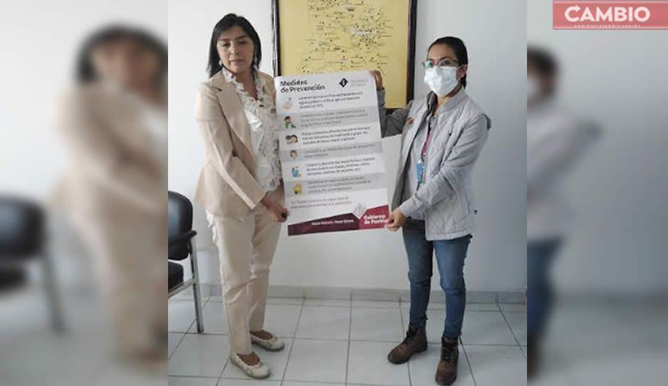 Confirman 6 casos de Covid-19 en Huejotzingo