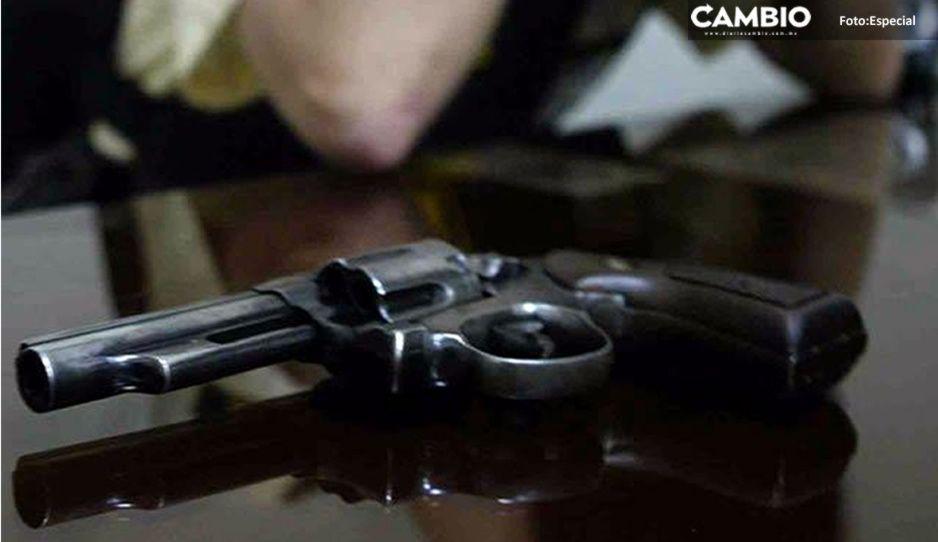 Depresión navideña: hombre se mata de un disparo en Izúcar de Matamoros