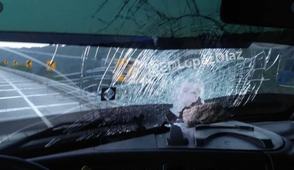 ¡Cuidado en el km 169! Lanzan piedras en el Arco Norte dirección a Puebla
