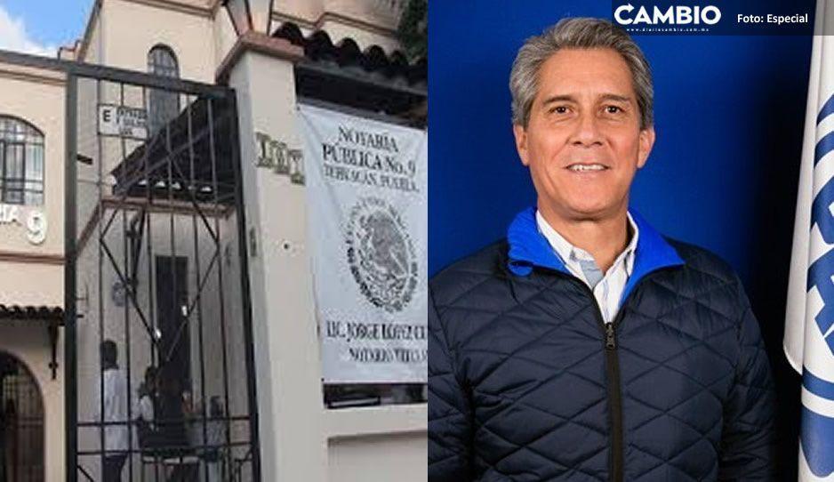 Notario morenovallista falsificador de documentos en Tehuacán es trasladado al Cereso de San Miguel