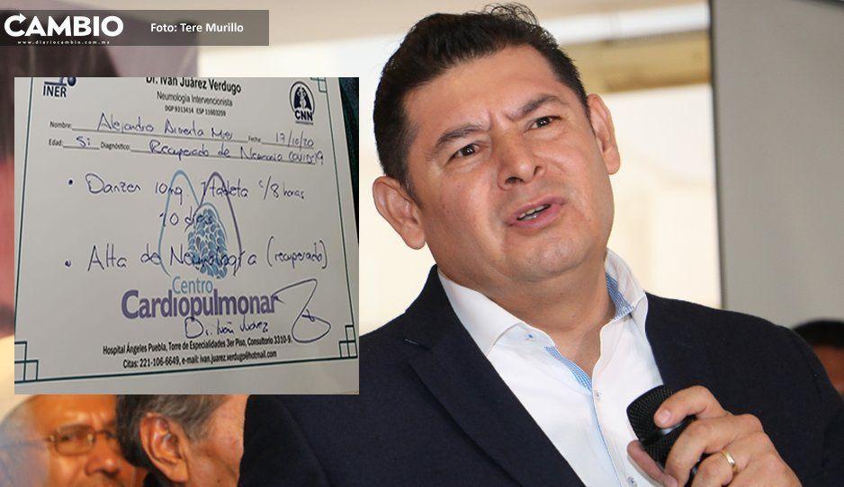 Armenta sin miedo al contagiadero: se reúne con integrantes de la Comisión de Hacienda a 10 días que le pegó el virus