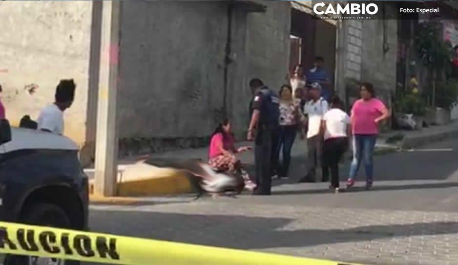 Alerta ajuste de cuentas en Atlixco;  matan a El Chistoso cerca de su casa