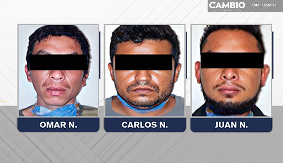 Caen El Chino, Carlos y El Juaninis por narcomenudeo en Tehuacán