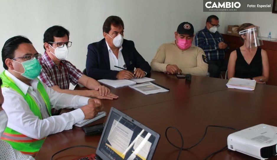 Ayuntamiento de Teziutlán capacita a personal que supervisará medidas de prevención del COVID en la apertura de comercios