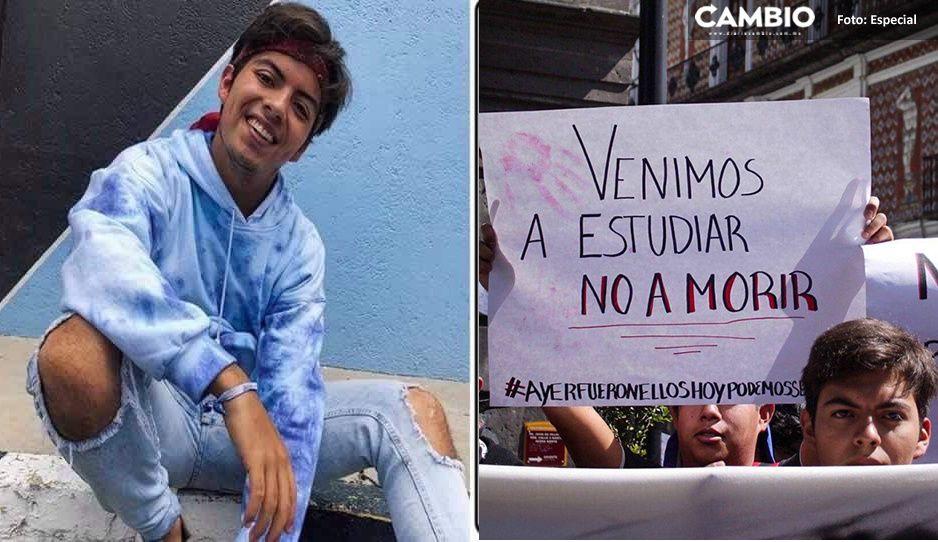 Poblanos marchan en Volcanes para exigir Justicia por Aldo (VIDEO)